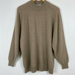 Real Cashmere Brand Sweater Lambswool Pullover